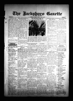 Primary view of object titled 'The Jacksboro Gazette (Jacksboro, Tex.), Vol. 54, No. 52, Ed. 1 Thursday, May 24, 1934'.