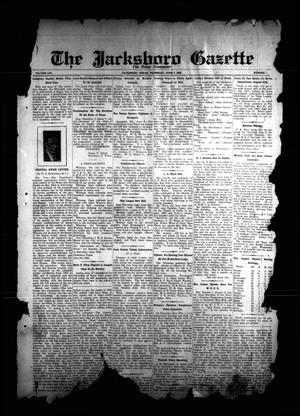 Primary view of object titled 'The Jacksboro Gazette (Jacksboro, Tex.), Vol. 56, No. 1, Ed. 1 Thursday, June 6, 1935'.