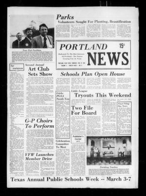Primary view of object titled 'Portland News (Portland, Tex.), Vol. 10, No. 9, Ed. 1 Thursday, February 27, 1975'.