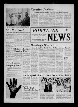 Primary view of object titled 'Portland News (Portland, Tex.), Vol. 8, No. 34, Ed. 1 Thursday, August 23, 1973'.