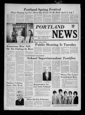 Primary view of object titled 'Portland News (Portland, Tex.), Vol. 9, No. 5, Ed. 1 Thursday, January 31, 1974'.