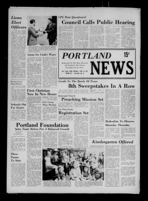 Primary view of object titled 'Portland News (Portland, Tex.), Vol. 8, No. 16, Ed. 1 Thursday, April 19, 1973'.