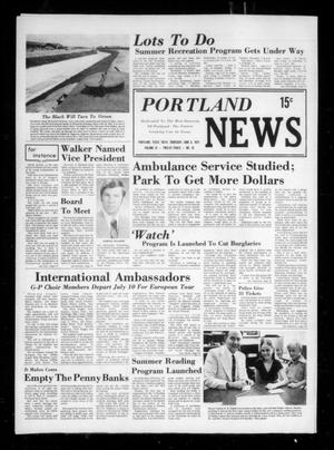 Primary view of object titled 'Portland News (Portland, Tex.), Vol. 9, No. 23, Ed. 1 Thursday, June 6, 1974'.
