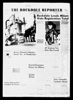 Primary view of object titled 'The Rockdale Reporter and Messenger (Rockdale, Tex.), Vol. 96, No. 10, Ed. 1 Thursday, March 7, 1968'.