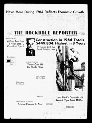 Primary view of object titled 'The Rockdale Reporter and Messenger (Rockdale, Tex.), Vol. 93, No. 1, Ed. 1 Thursday, January 7, 1965'.