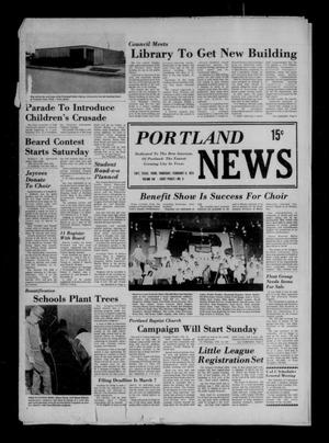 Primary view of object titled 'Portland News (Portland, Tex.), Vol. 8, No. 6, Ed. 1 Thursday, February 8, 1973'.