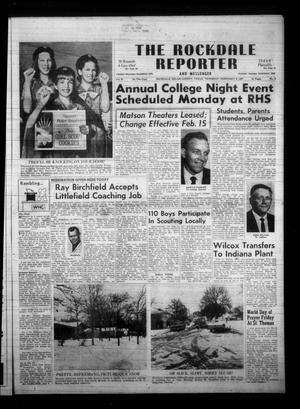 Primary view of object titled 'The Rockdale Reporter and Messenger (Rockdale, Tex.), Vol. 95, No. 6, Ed. 1 Thursday, February 9, 1967'.