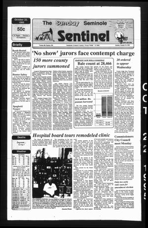 Primary view of object titled 'The Seminole Sentinel (Seminole, Tex.), Vol. 88, No. 104, Ed. 1 Sunday, October 22, 1995'.