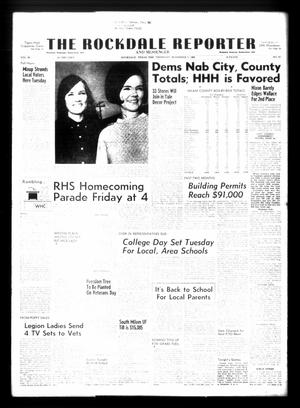 Primary view of object titled 'The Rockdale Reporter and Messenger (Rockdale, Tex.), Vol. 96, No. 45, Ed. 1 Thursday, November 7, 1968'.