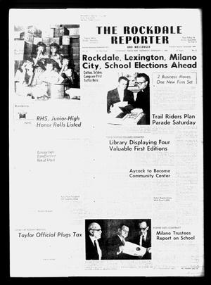 Primary view of object titled 'The Rockdale Reporter and Messenger (Rockdale, Tex.), Vol. 96, No. 5, Ed. 1 Thursday, February 1, 1968'.