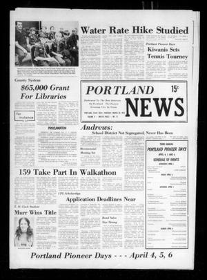 Primary view of object titled 'Portland News (Portland, Tex.), Vol. 10, No. 12, Ed. 1 Thursday, March 20, 1975'.