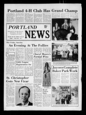 Primary view of object titled 'Portland News (Portland, Tex.), Vol. 10, No. 5, Ed. 1 Thursday, January 30, 1975'.