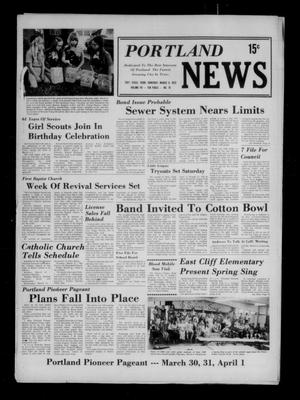 Primary view of object titled 'Portland News (Portland, Tex.), Vol. 8, No. 10, Ed. 1 Thursday, March 8, 1973'.