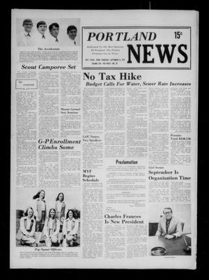 Primary view of object titled 'Portland News (Portland, Tex.), Vol. 8, No. 36, Ed. 1 Thursday, September 6, 1973'.