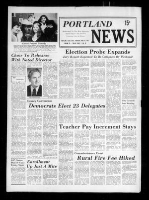 Primary view of object titled 'Portland News (Portland, Tex.), Vol. 9, No. 20, Ed. 1 Thursday, May 16, 1974'.