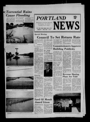 Primary view of object titled 'Portland News (Portland, Tex.), Vol. 8, No. 24, Ed. 1 Thursday, June 14, 1973'.