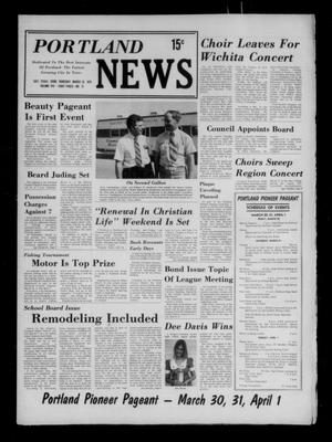 Primary view of object titled 'Portland News (Portland, Tex.), Vol. 8, No. 12, Ed. 1 Thursday, March 22, 1973'.