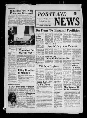 Primary view of object titled 'Portland News (Portland, Tex.), Vol. 9, No. 9, Ed. 1 Thursday, February 28, 1974'.