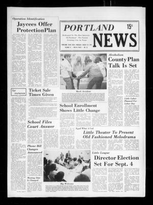 Primary view of object titled 'Portland News (Portland, Tex.), Vol. 9, No. 35, Ed. 1 Thursday, August 29, 1974'.