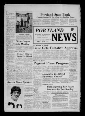 Primary view of object titled 'Portland News (Portland, Tex.), Vol. 8, No. 4, Ed. 1 Thursday, January 25, 1973'.