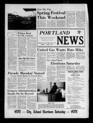 Primary view of object titled 'Portland News (Portland, Tex.), Vol. 9, No. 14, Ed. 1 Thursday, April 4, 1974'.