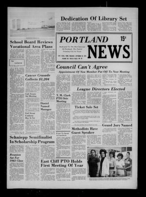 Primary view of object titled 'Portland News (Portland, Tex.), Vol. 8, No. 38, Ed. 1 Thursday, September 20, 1973'.