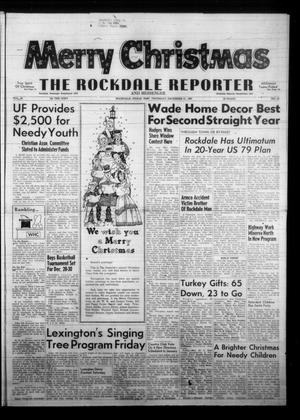 Primary view of object titled 'The Rockdale Reporter and Messenger (Rockdale, Tex.), Vol. 95, No. 51, Ed. 1 Thursday, December 21, 1967'.