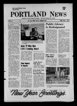 Primary view of object titled 'Portland News (Portland, Tex.), Vol. 6, No. 52, Ed. 1 Thursday, December 30, 1971'.
