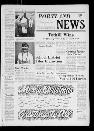 Primary view of object titled 'Portland News (Portland, Tex.), Vol. 8, No. 51, Ed. 1 Thursday, December 20, 1973'.