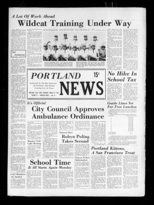 Primary view of object titled 'Portland News (Portland, Tex.), Vol. 9, No. 34, Ed. 1 Thursday, August 22, 1974'.