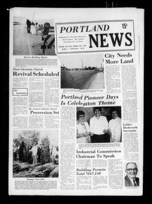 Primary view of object titled 'Portland News (Portland, Tex.), Vol. 9, No. 49, Ed. 1 Thursday, December 5, 1974'.