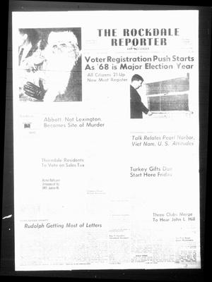 Primary view of object titled 'The Rockdale Reporter and Messenger (Rockdale, Tex.), Vol. 95, No. 49, Ed. 1 Thursday, December 7, 1967'.