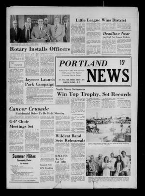 Primary view of object titled 'Portland News (Portland, Tex.), Vol. 8, No. 31, Ed. 1 Thursday, August 2, 1973'.