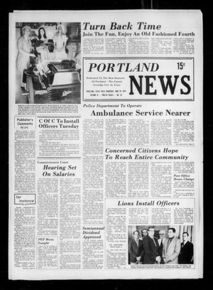 Primary view of object titled 'Portland News (Portland, Tex.), Vol. 9, No. 25, Ed. 1 Thursday, June 20, 1974'.