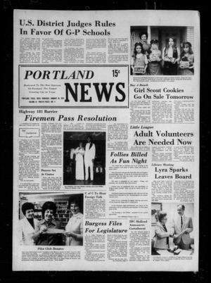 Primary view of object titled 'Portland News (Portland, Tex.), Vol. 9, No. 4, Ed. 1 Thursday, January 24, 1974'.