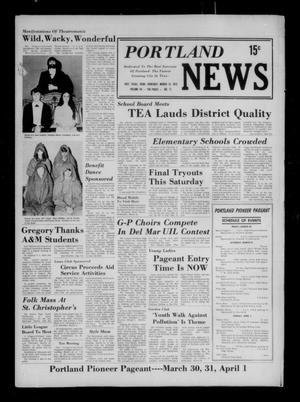 Primary view of object titled 'Portland News (Portland, Tex.), Vol. 8, No. 11, Ed. 1 Thursday, March 15, 1973'.