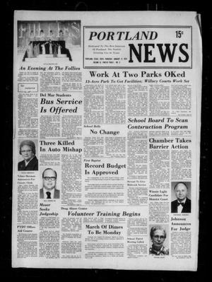 Primary view of object titled 'Portland News (Portland, Tex.), Vol. 9, No. 3, Ed. 1 Thursday, January 17, 1974'.