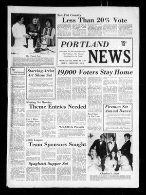 Primary view of object titled 'Portland News (Portland, Tex.), Vol. 9, No. 45, Ed. 1 Thursday, November 7, 1974'.