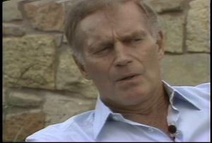 Interview with Charlton Heston #2