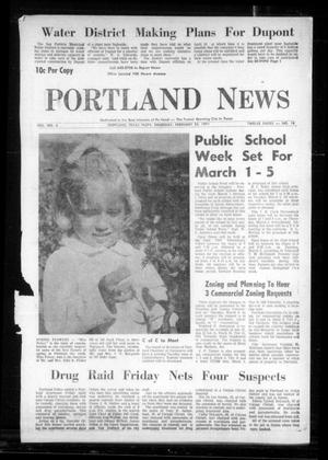 Primary view of object titled 'Portland News (Portland, Tex.), Vol. 6, No. 18, Ed. 1 Thursday, February 25, 1971'.