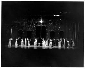 Primary view of object titled '[Act 1, Scene 10 of My Fair Lady, 1977]'.