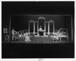 Primary view of object titled '[Four Actors in The Unsinkable Molly Brown]'.
