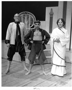Primary view of object titled '[Three Actors in The King and I]'.