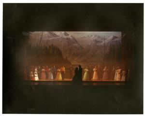 Primary view of object titled '[End of the Wedding Scene in Seven Brides for Seven Brothers]'.
