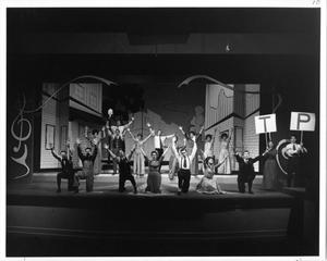 Primary view of object titled '[Photograph from The Music Man, 1963 #7]'.