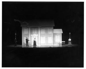 Primary view of object titled '[Four Actors from My Fair Lady, 1977]'.