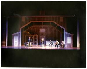 Primary view of object titled '[The Brothers Mourn Not Being Able to See the Brides in Seven Brides for Seven Brothers]'.