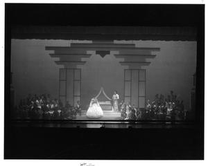 Primary view of object titled '[Bedroom Scene in The King and I]'.