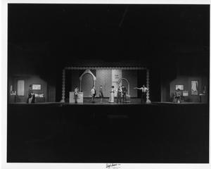 Primary view of object titled '[Wide Photograph from Kiss Me, Kate]'.