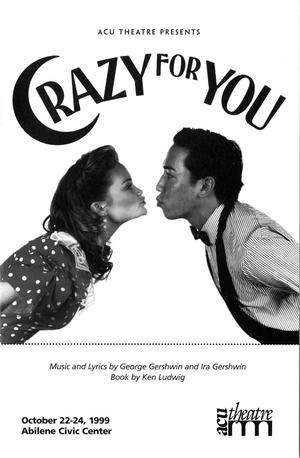 Primary view of [Program: Crazy for You, 1999]